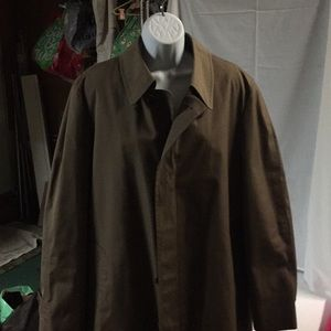 London Fog All Weather Dress Coat Brown Size 42 R